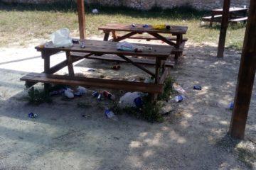 La Policía Local disuelve un macro botellón el sábado de madrugada en Finca Ferrusa