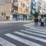 Demà comença la construcció d'una glorieta en l'avinguda d'Elda que provocarà canvis en el trànsit mentre duren les obres