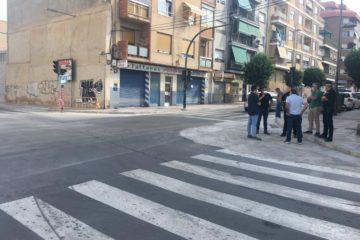Mañana comienza la construcción de una glorieta en la avenida de Elda que provocará cambios en el tráfico mientras duran las obras