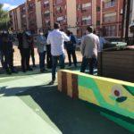 El Consorcio CREA pone como ejemplo la EcoIsla de compostaje comunitario de Petrer durante la visita de una delegación africana