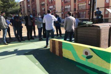 El Consorci CREA posa com a exemple l'EcoIlla de compostatge comunitari de Petrer durant la visita d'una delegació africana
